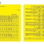 UL Certificated Yellow Card
