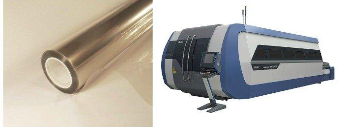 Lámina para vidrio anti UV